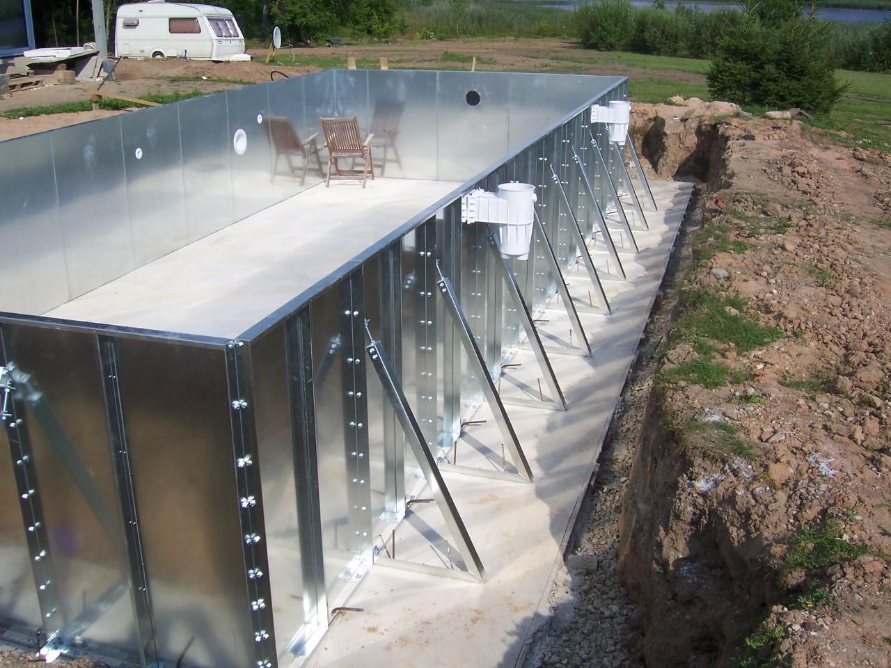 Bazeni Metalni Panel