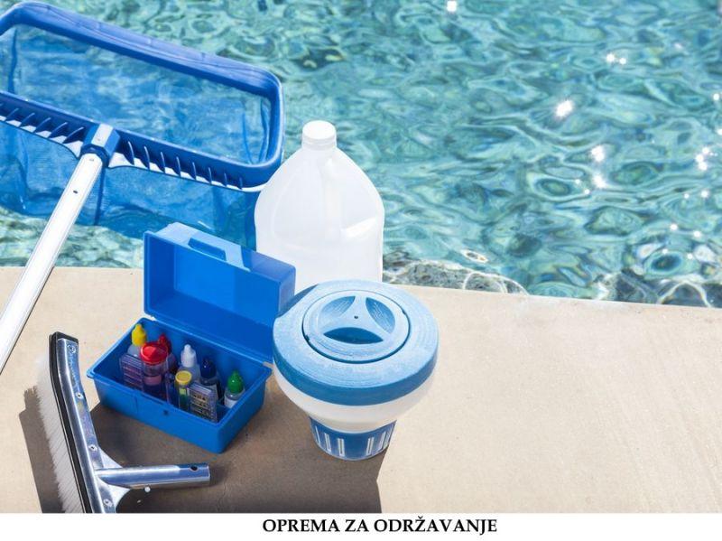 Oprema za održavanje bazena akcija