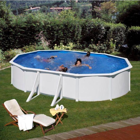 Ovalni montažni bazeni GRE - set (dubina 1.2m)
