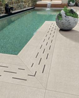 Betonske prelivne resetke za bazen Nero